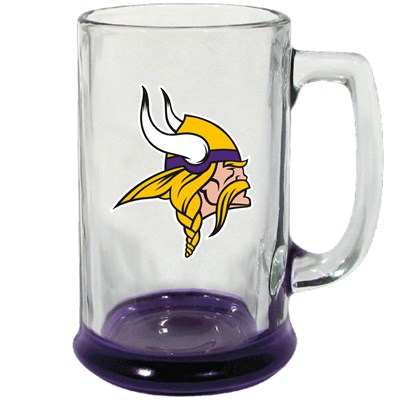 Minnesota Vikings Highlight Glass Stein