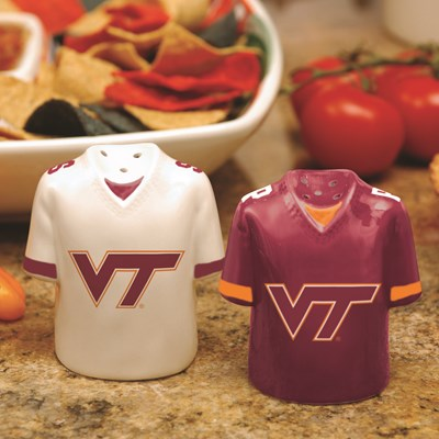 Jersey Salt & Pepper Shaker Set - Virginia Tech