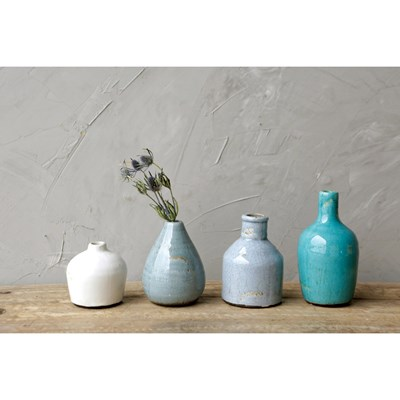 Terra Cotta Vases - Set of 4