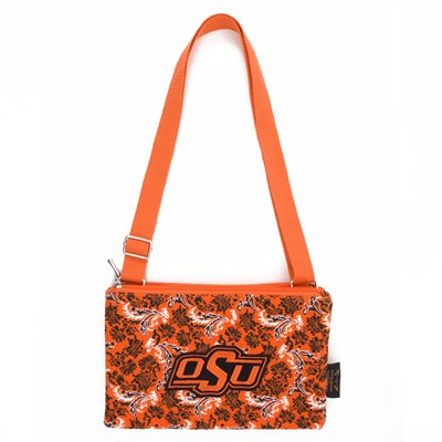 Oklahoma State - Cross Body Bloom Purse