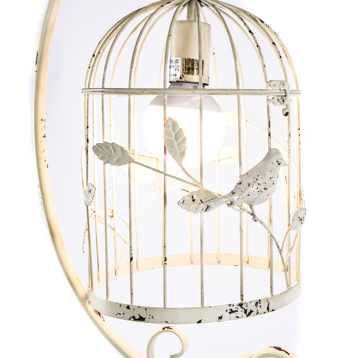 from cover item metal guard pendant vintage nordic industrial classic lamp cage birdcage light wire black lights iron lampshade in