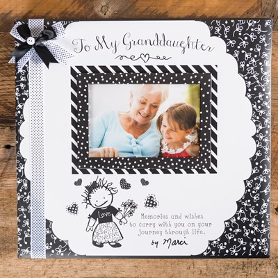 To My Granddaughter Memory Book