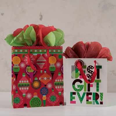 """Best Gift Ever"" Gift Bag Set"