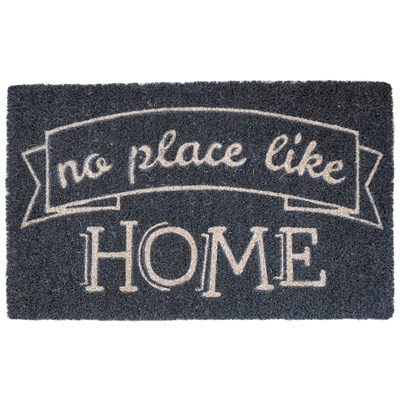 """No Place Like Home"" Coir Doormat"