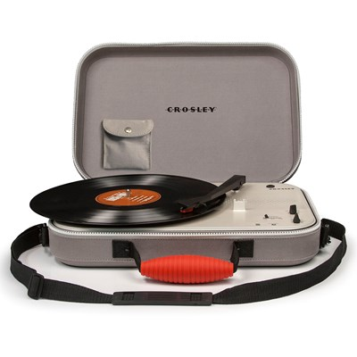 Crosley ® Messenger Portable Battery-Powered Record Player