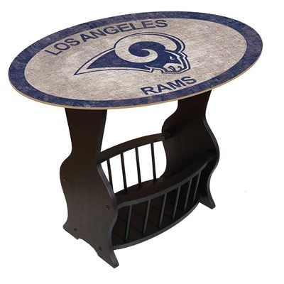 Los Angeles Rams - Team Color End Table