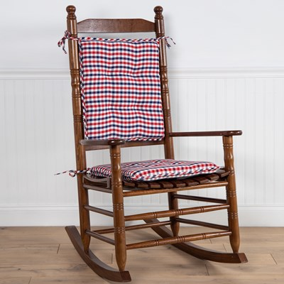 Gingham Rocker Cushion Set