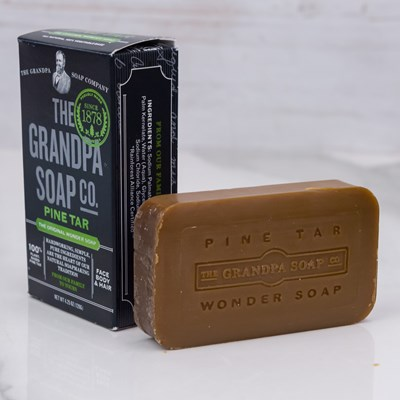 The Grandpa Soap Co. Face & Body Bar - Pine Tar