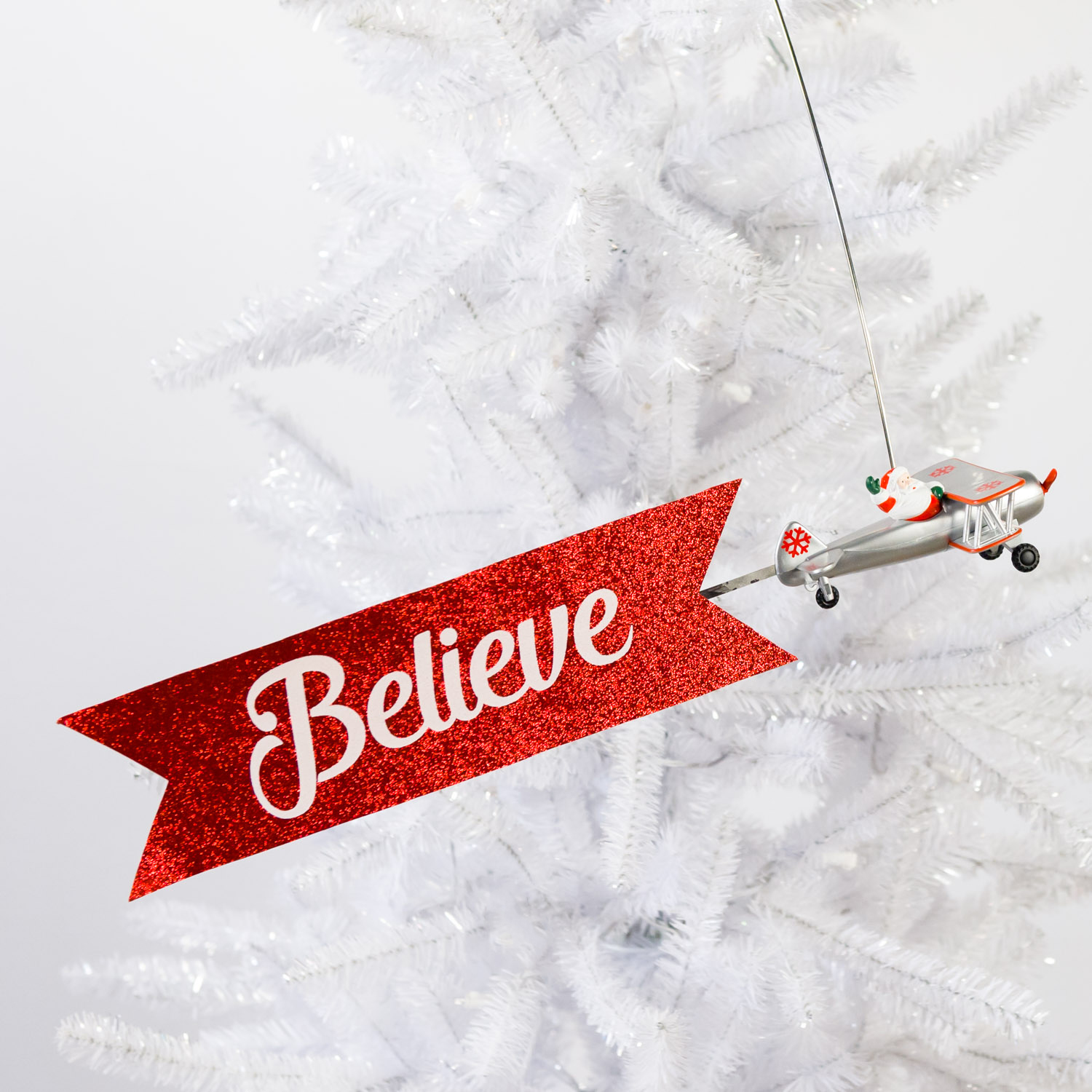 Biplane Animated Tree Topper - Cracker Barrel Old Country Store