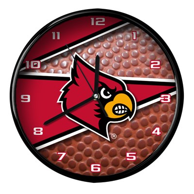 Louisville - Football Clock