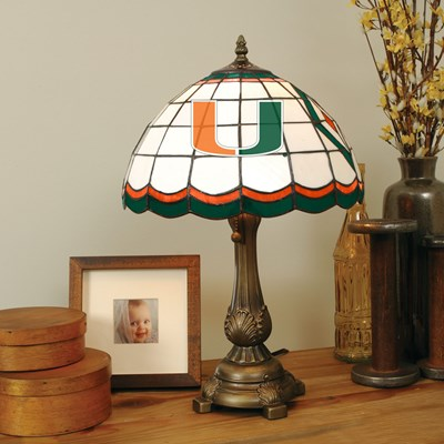 Tiffany Table Lamp - Miami of Florida