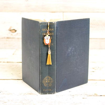 Owl Charm Bookmark