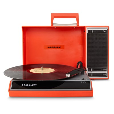 Crosley ® Spinnerette Portable USB Record Player - Red