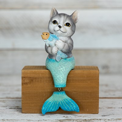 Mermaid Cat Sitter
