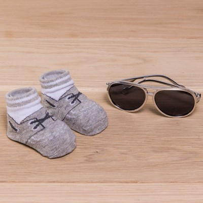 Infant Sunglasses and Sock Set