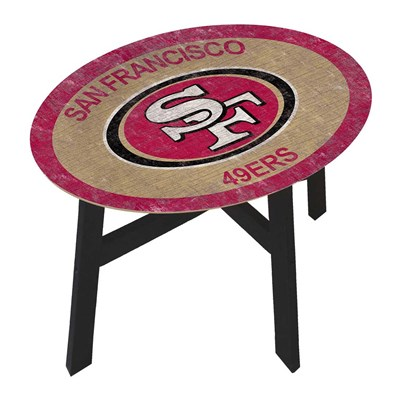 San Francisco 49ers - Team Color Side Table