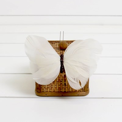 Feather Butterfly Magnet
