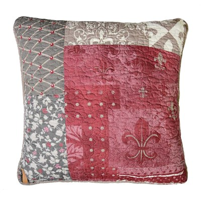 Fleur-De-Lis Dec Pillow by Donna Sharp - Square