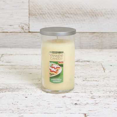Yankee Candle Christmas Cookie Pillar Candle