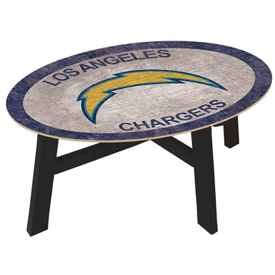 Los Angeles Chargers - Team Color Coffee Table