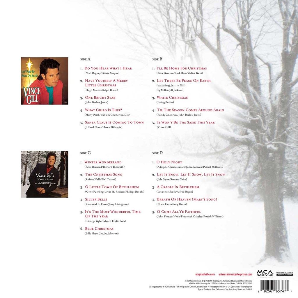 Vince Gill - The Christmas Collection Exclusive LP - Cracker Barrel ...
