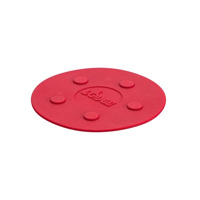 "Lodge ® 8"" Large Magnetic Trivet - Red"
