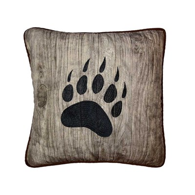 Bear Mirage Pillow by Donna Sharp