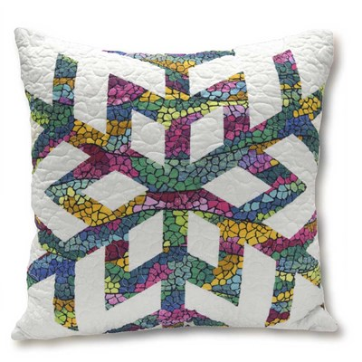 Aurora Winter Decorative Pillow - Snowflake