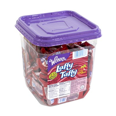 Laffy Taffy Cherry - 145 Piece Tub