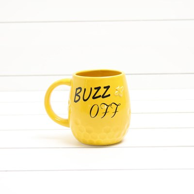 Stoneware Mug - Buzz Off