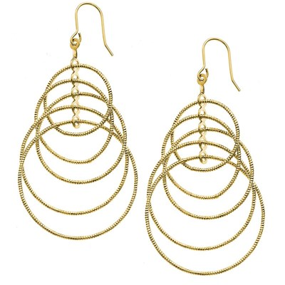 14KT Gold Plated Dangle Earring