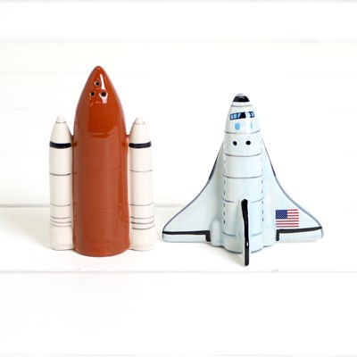 Shuttle and Booster Salt and Pepper Set