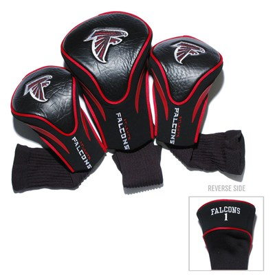 Contoured Headcovers Set - Atlanta Falcons