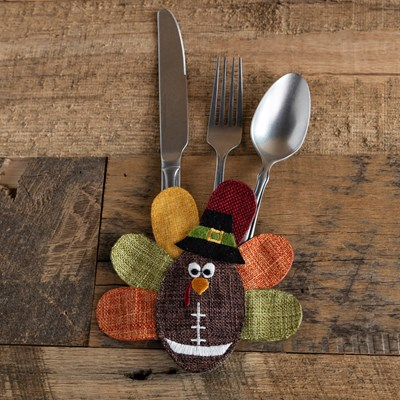 Football Turkey Silverware Holder