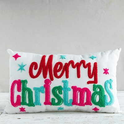 """Merry Christmas"" Pillow"