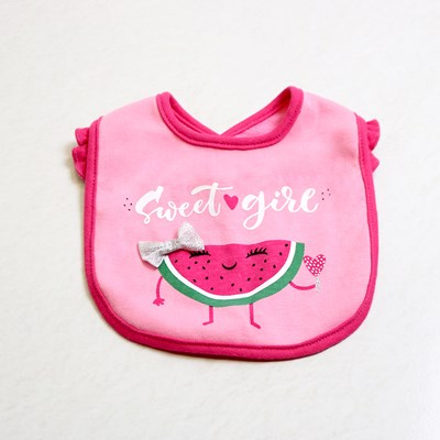 Children's 3 Pack Watermelon Bibs
