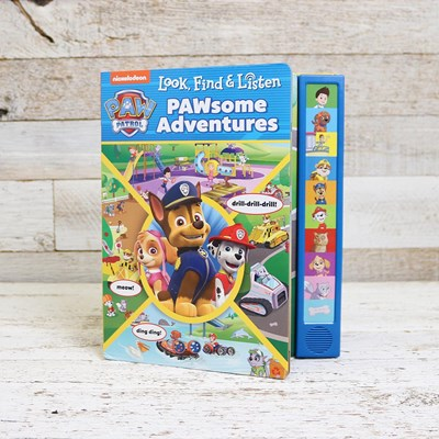 Paw Patrol Look, Find, and Listen Book