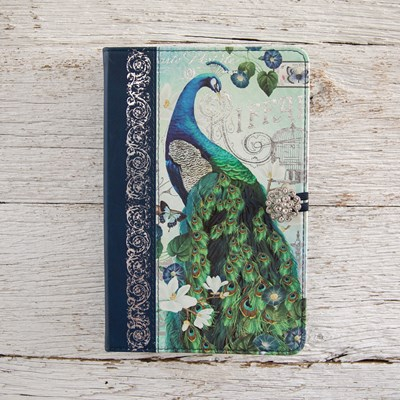 Peacock Embellished Journal