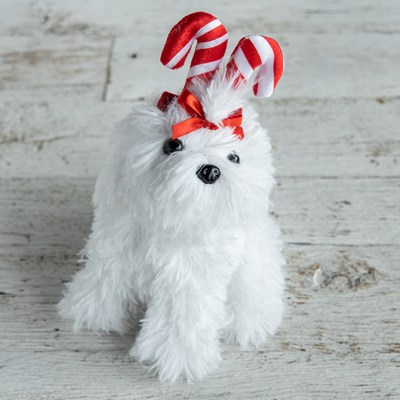Candy Cane Puppy