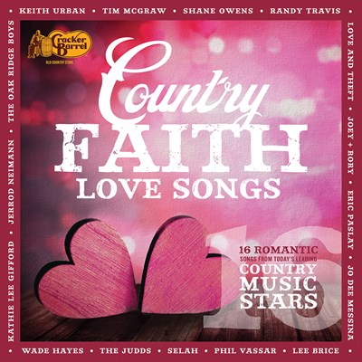Country Faith Love Songs CD