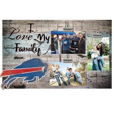 Buffalo Bills - I Love My Family Clip Frame