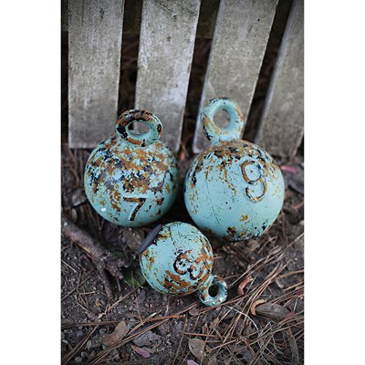 Decorative Vintage Style Weights - Set of 3