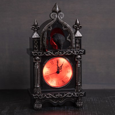 Animated Raven Cuckoo Clock