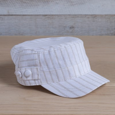 Stripe Cadet Hat