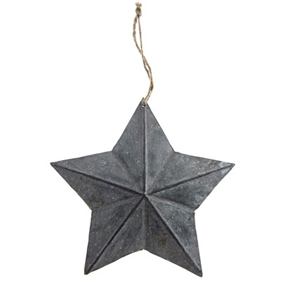 Metal Star Ornament - Small