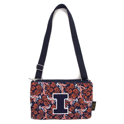 Illinois - Cross Body Bloom Purse