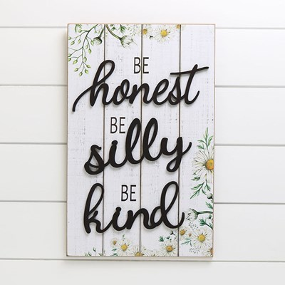 Be Honest Wood Wall Decor