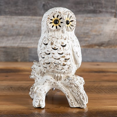 Owl Cutout Resin Accent Light