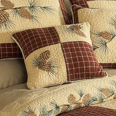 Pine Lodge Decorative Pillow by Donna Sharp - Patch
