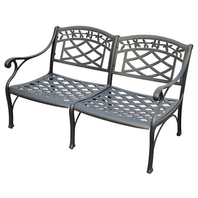 Sedona Metal Loveseat